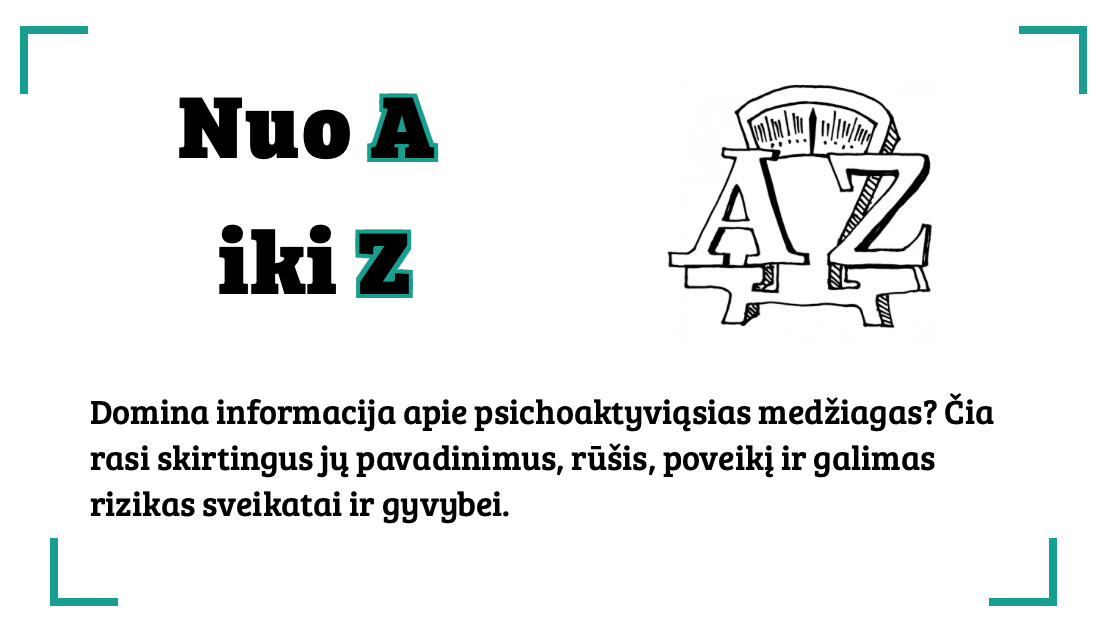 Narkotikai A iki Z